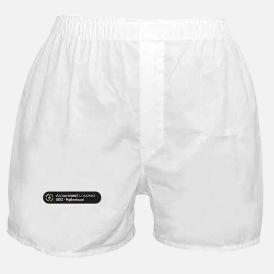 Fatherhood - Achievement Unlocked Boxer Shorts