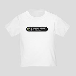 Fatherhood - Achievement Unlocked T-Shirt