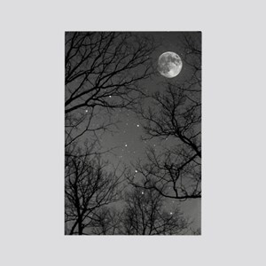 Moonlite Night Rectangle Magnet