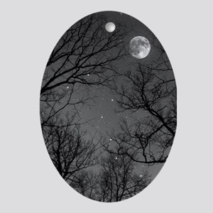 Moonlite Night Ornament (Oval)
