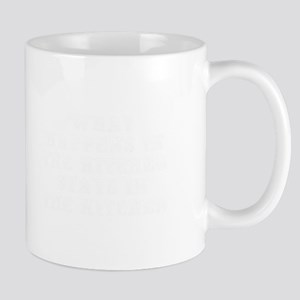 What happens in the kitchen-Max white Mugs