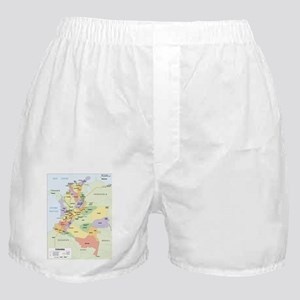 Colombia departments Boxer Shorts