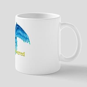 Dragon Powered Blue Mug