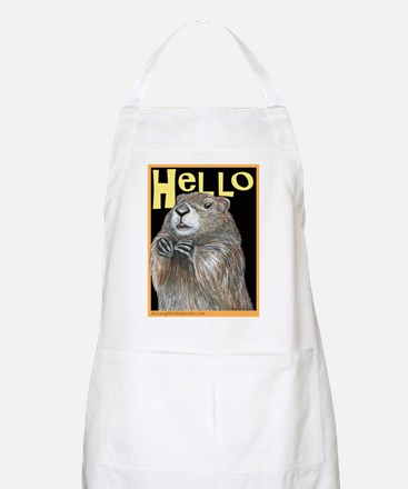 groundhog coming up Apron