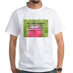 Hebrews 13:6 White T-shirt