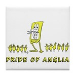 Pride of Anglia (Norwich City FC inspired) Tile Co