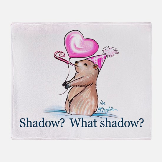 Shadow? What Shadow? Throw Blanket