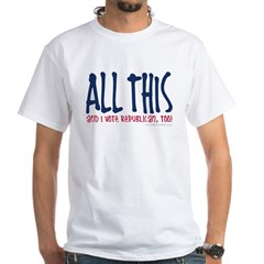 ALL THIS White T-shirt
