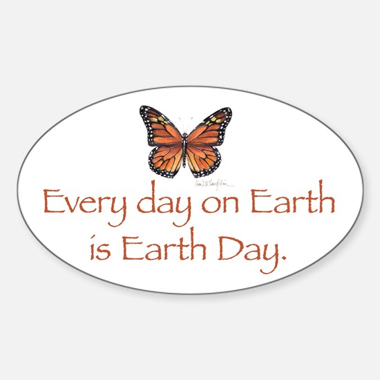 Earth Day Butterfly.png Decal