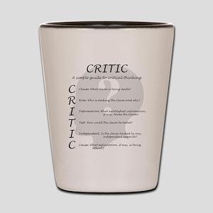 Critic Shot Glass