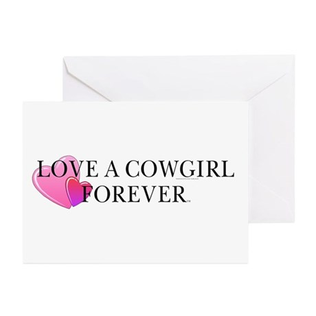 Cowgirl Love Greeting Cards (Pk of 10)