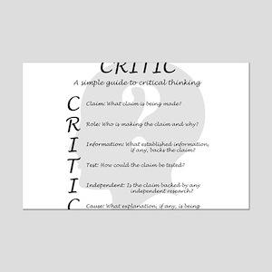 Critic Mini Poster Print