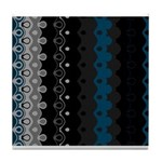 CURVACEOUS RHYTHM Tile Coaster