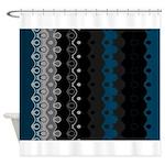 CURVACEOUS RHYTHM Shower Curtain