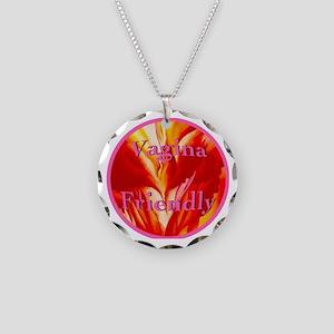 2-vaginafriendlycircle Necklace Circle Charm