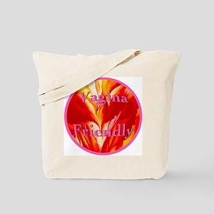 2-vaginafriendlycircle Tote Bag