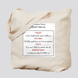 the complete concise twilight saga guide Tote Bag