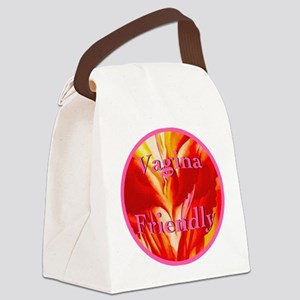 2-vaginafriendlycircle Canvas Lunch Bag