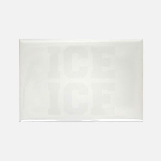 ice ice baby-Fre white Magnets