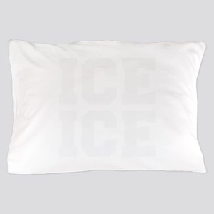 ice ice baby-Fre white Pillow Case