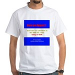 White T-shirt: Colorado was admitted as the 38th U