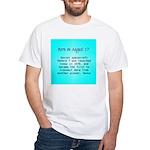 White T-shirt: Soviet spacecraft Venera 7 was laun
