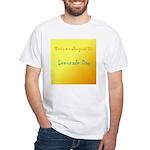 White T-shirt: Lemonade Day