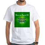 White T-shirt: Brazil declared war on the Axis pow