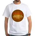 White T-shirt: Spongecake Day