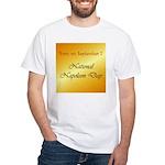 White T-shirt: Napoleon Day