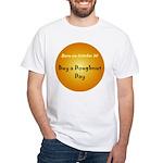 White T-shirt: Buy a Doughnut Day