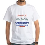 White T-shirt: Pikes Peak Day Lt. Zebulon Pike's E