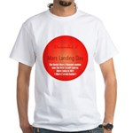 White T-shirt: Mars Landing Day The Soviet Mars 3