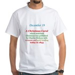 White T-shirt: A Christmas Carol which redefined C