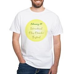 White T-shirt: International Clam Chowder Festival