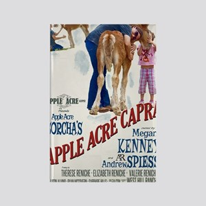 "Apple Acre Capra ""Muse"" Gypsy Vin Rectangle Magnet"
