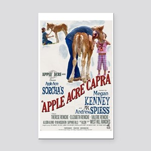 """Apple Acre Capra """"Muse"""" Gypsy Rectangle Car Magnet"""