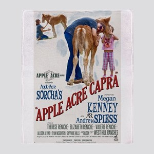 "Apple Acre Capra ""Muse"" Gypsy Vintag Throw Blanket"