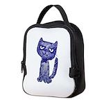 Dark Pussy Neoprene Lunch Bag
