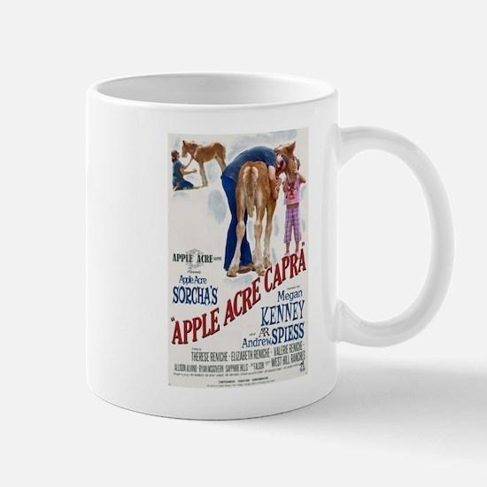 "Apple Acre Capra ""Muse"" Gypsy Vintage Poster Mugs"