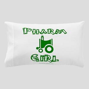 pharm girl trans Pillow Case