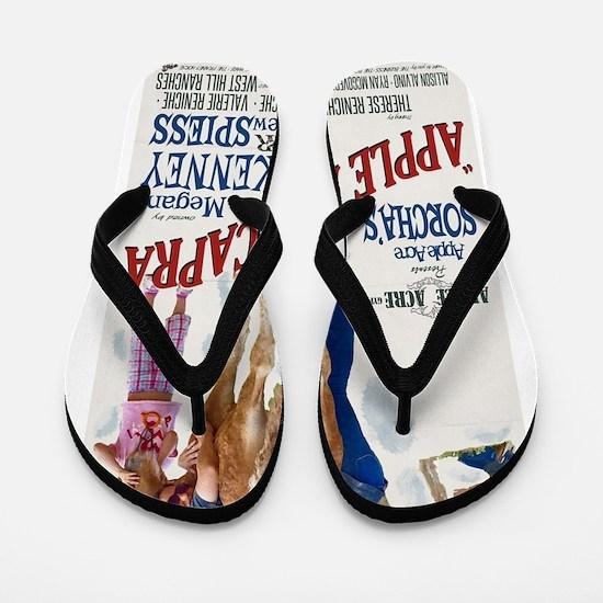"Apple Acre Capra ""Muse"" Gypsy Vintage P Flip Flops"