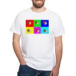 Andy Warhola Bagels White T-Shirt