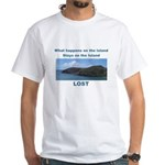 Lost, The Island White T-shirt