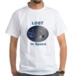Lost, The Island In Space White T-shirt