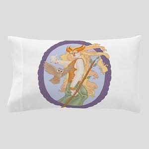 Grey Eyed Athena Pillow Case