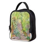Spring Garden Neoprene Lunch Bag