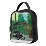 English Pub Garden Neoprene Lunch Bag