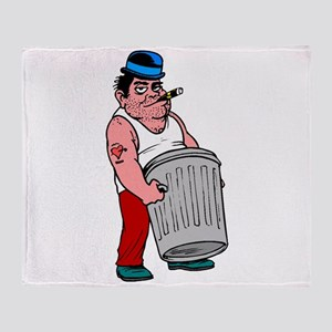 Trash Collector Throw Blanket
