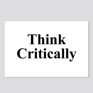 Think Critically Postcards (Package of 8)